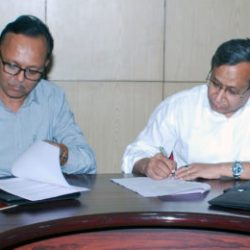 RDCIS and BIT Sindri signed an MoU for carrying out collaborative Research projects