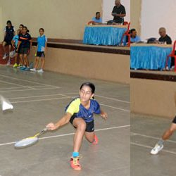 The 6th Sylvia Francis Ranchi District Inter School Badminton Championship at CMPDIL