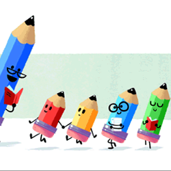 Google celebrated Teacher's Day 2016 with an animated Doodle.