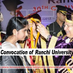 The 30th convocation of Ranchi University