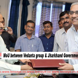 MoU between Vedanta group and Jharkhand Government