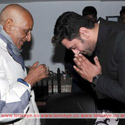 LJP leader and MP Chirag Paswan met family members of martyr Lt Colonel Sankalp Kumar