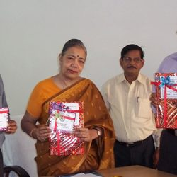 Laxmi Singh releasing the result of Compartmental Exams