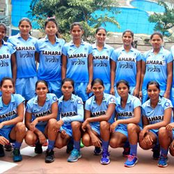 Indian Junior Women Hockey Team selected for the upcoming Volvo International U-21 Women Tournament 2015