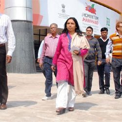 Nidhi Khare inspected the GIS venue