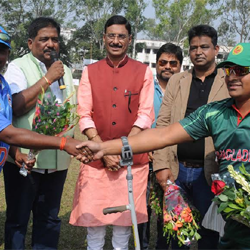 Disabled International Cricket :: The Opening ceremony.
