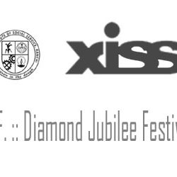 XISS Ranchi ::  Diamond Jubilee Festivities from 14th to 18th February 2017.