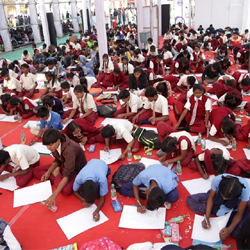 Painting competition by Cultural Directorate, Government of Jharkhand