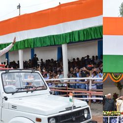 The 70th Independence Day celebration @ Jharkhand