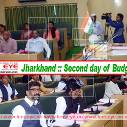Jharkhand :: Second day of Budget Session.
