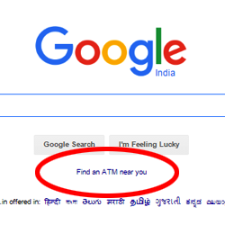 Lens Eye Exclusive :: Want to find ATM near you :: Google it.