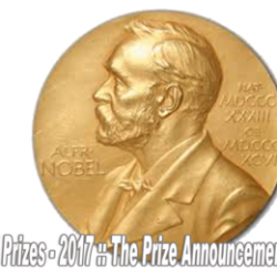 Nobel Prizes – 2017 :: The Prize Announcement Dates