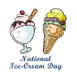National Ice Cream Day :: Third Sunday in July