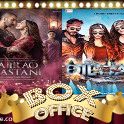 Friday Box Office :: Bajirao Mastani & Dilwale [ 18th of Dec 2015 ]