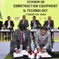 """HEC ties up with Cummins during the """"Make in India"""" week in Mumbai."""