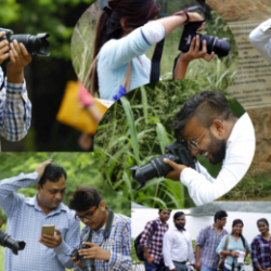 Himalayan Photography Academy celebrated World Photography Day by a Photo walk with Nature