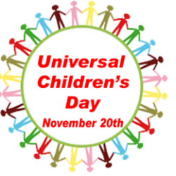 United Nations Universal Children's Day : November 20th each year