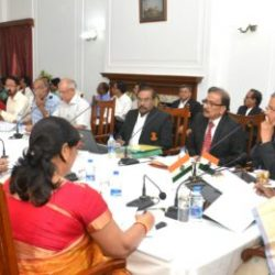 Governor of Jharkhand Draupadi Murmu holds a meeting with Vice chancellors