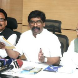 Jharkhand :: Press conference by All opposition party leaders