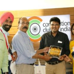 Rajat Kumar Gupta ( Mentor, Lens Eye India ) feliciated team Lens Eye Delhi.