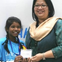 I dream of a future where all children are Healthy, Safe and Protected in School : Payal ( 13 year old,  UNICEF Chief for a Day )