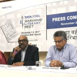 Tata Steel Jharkhand Literary meet on December 1 and 2.
