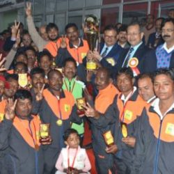 The 17th All India BSNL Hockey Tournament 2017 : Jharkhand won by 5-0 from Karnataka