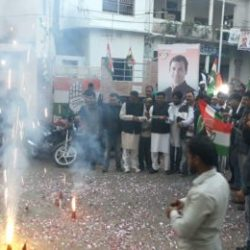 Rahul Gandhi  elected as Congress president unopposed : Celebration in congress