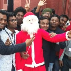 Christmas celebration in Xavier college