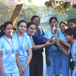 Finale of Inter-departmental Basketball Tournament at XISS