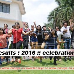 CBSE results : 2016 :: Celebration