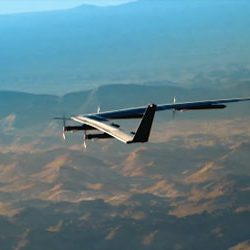 I'm proud to announce the successful first flight of Aquila — the solar-powered plane :  Mark Zuckerberg.