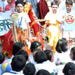 Two Festivals of Diverse India were Celebrated Together in DPS Ranchi