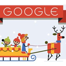 Tis the season!: Google Doodle celebrates first day of the Christmas holidays