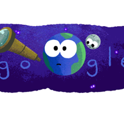 Google celebrated discovery of Seven Earth-size Exoplanets with a animated doodle