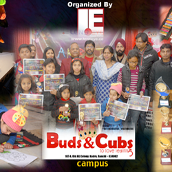 Aakriti – 2016, a Drawing & Painting  competition by Lens Eye [News portal] in Buds & Cubs School.
