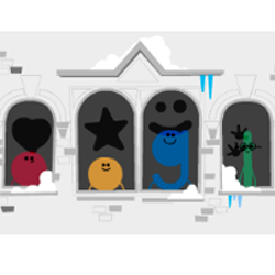 'Tis the Season! says Google with yet another animated doodle.