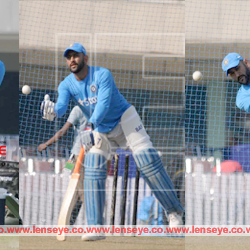 The 4th ODI India Vs New Zealand : The Practice Session