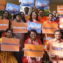 'Orange the World : Raise Money to End Violence against Women and Girls'
