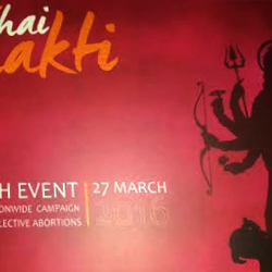 "Grand launch of ""Tu Hai Shakti"" – An Yearlong Nationwide Mass Awareness & Sensitization Campaign Against Sex Selective Abortions on 27th March 2016 in Siri Fort Auditorium, New Delhi."