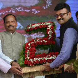Raghubar Das completed two years as Jharkhand Chief Minister