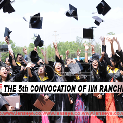 The 5th Convocation of IIM Ranchi.
