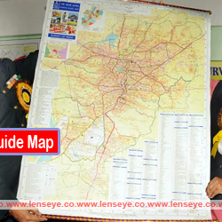 Ranchi Guide Map.