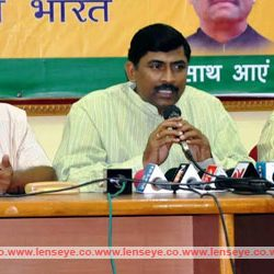 BJP national General Secretary, P. Murlidhar Rao addresses a press conference