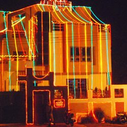 Full On Lights in Dhoni's residence