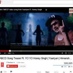 """Official Song Teaser """"ABCD"""" from Upcoming Hindi movie """"YAARIYAN"""", Released on You Tube."""