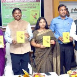 Book Launched Ceremony ::  Industrial Labour Policy and Economic Development India