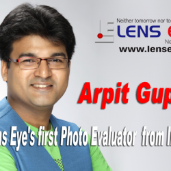"""Arpit Gupta :: Lens Eye's first """"Photo Evaluator"""" from India."""