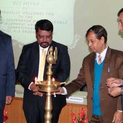 "Inauguration of National Conference on ""Sustainable Development and Global Competitiveness"" at BIT-Meshra,Ranchi."