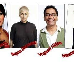 Aashka, Sapna, Vrajesh & Niketan are nominated in 6th Week of Bigg Boss 6.